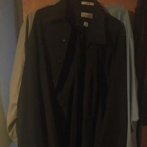 Other - Black button up long sleeve shirt